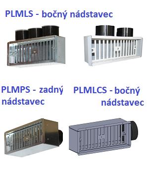 Boxy PLML- S / CS , PLMPS pre distribučné elementy GRLFOR, GRLFX