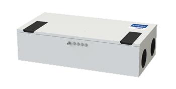 Rekuperačná jednotka Domekt - CF-150-F/H