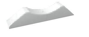 Fixačná noha k ventilátoru QIN Ø100