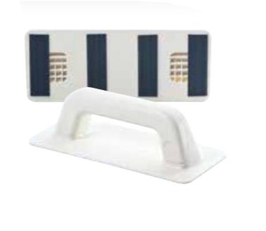 Ergonomická rukoväť so suchým zipsom