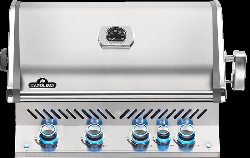 Napoleon - Plynový gril - Vstavaný gril BIPRO 500 LPG
