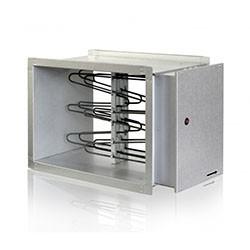 Elektrický ohrievač do potrubia EKS 500x250