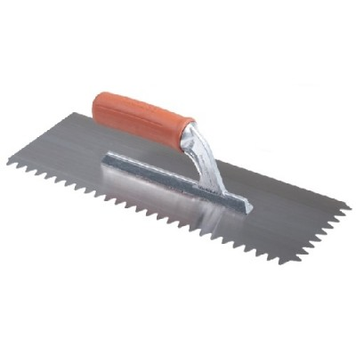 Hladítko so zárezom v tvare V 36x13cm (11,8mm)