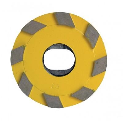 Kotúč s diamantovými vankúšikmi, ZRNITOSŤ 100/120, 115mm