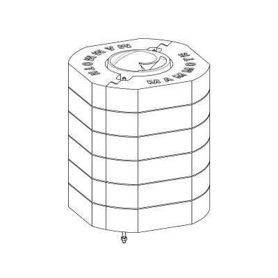 AKUMULAČNÁ SADA PRSTENCOV ROMOTOP MAMMOTH - 6 ks (AKKUM KV 01B)