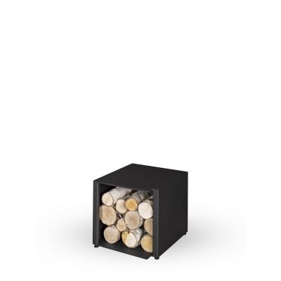 BOX nízky, úzky pre krbové kachle ESQUINA N - plech