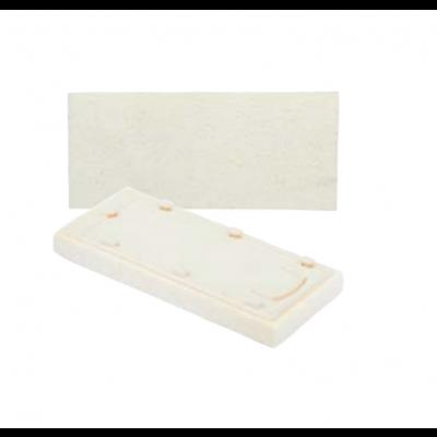 Náhradná špongia biela 13x30x3 cm