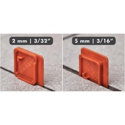 Klinky dištančné 2-5mm