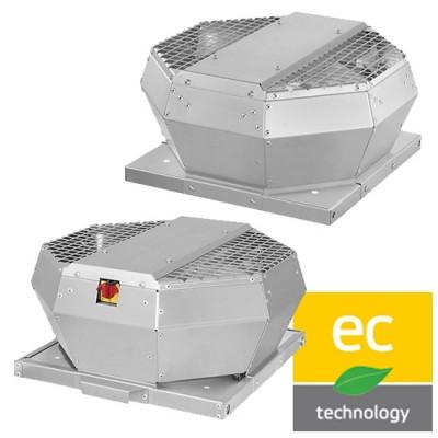 Strešné ventilátory DVA-EC