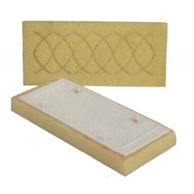 Náhradná špongia vyrezávaná 13x30x3 cm