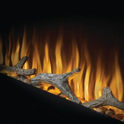 Dekoratívne drevo pre elektrické krby PURVIEW
