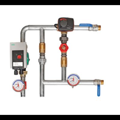 Zmiešavací uzol - PPU-CW-3-25 - chladenie