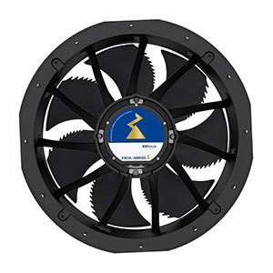 Axiálny potrubný AC ventilátor -FC/FN