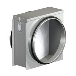 Filtračný box s rámčekovým filtrom FD do kruhového potrubia trieda G4