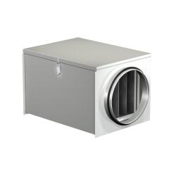 Filtračný box s vreckovým  filtrom FDI do kruhového potrubia tr. M5