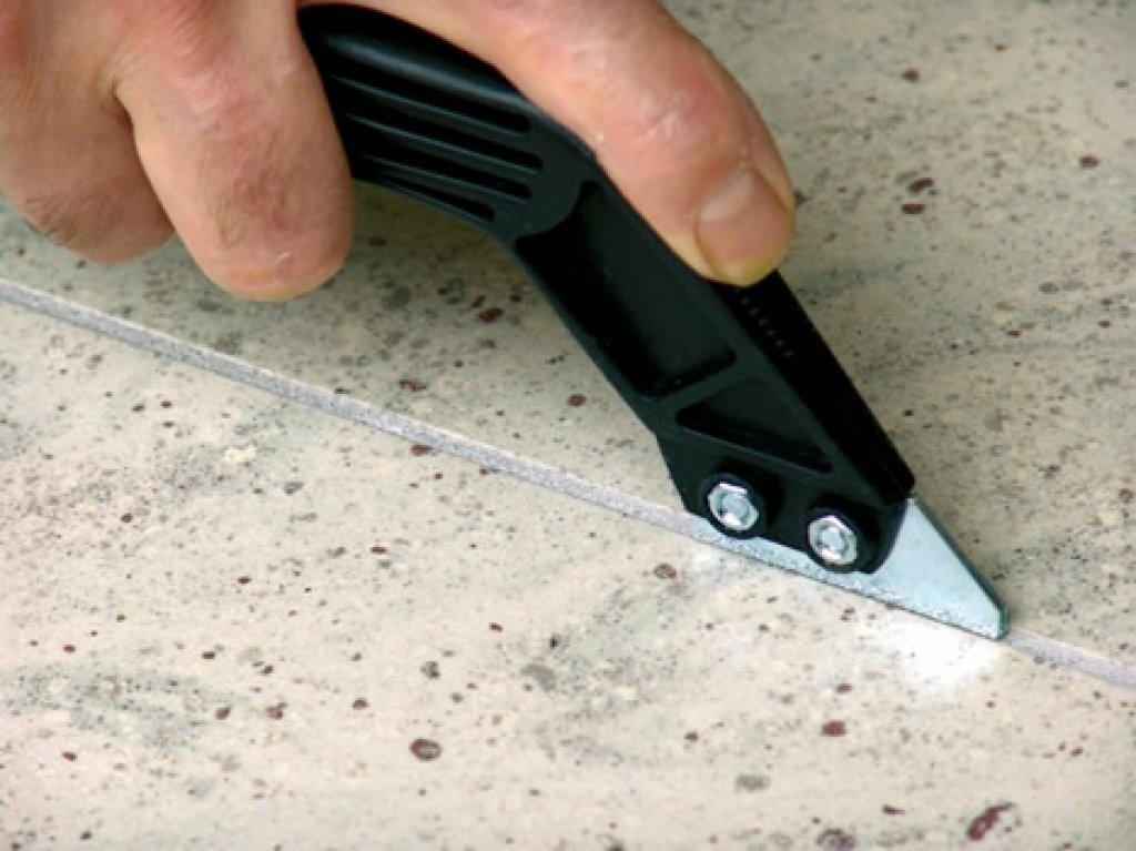 """Nožík na čistenie špár s 2 čepeľami """"ABRAFUGH"""