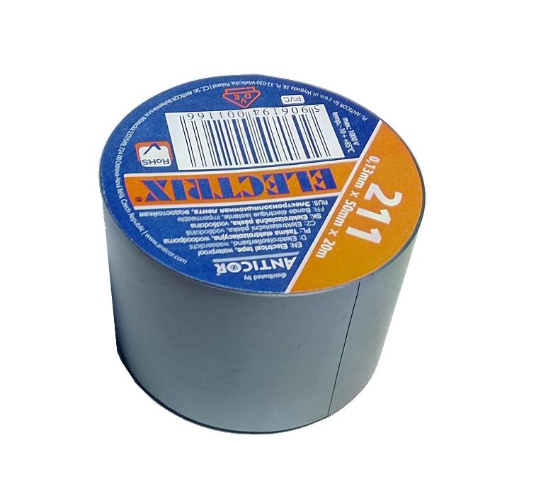 PVC páska 211 - šedá