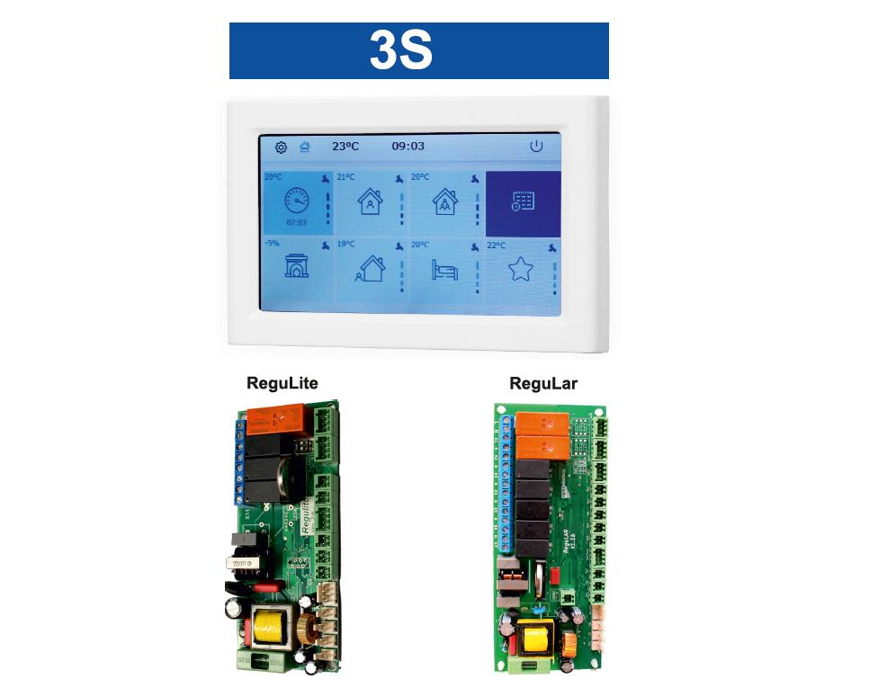 Riadiaci systém ReguLar a ReguLite / 3S