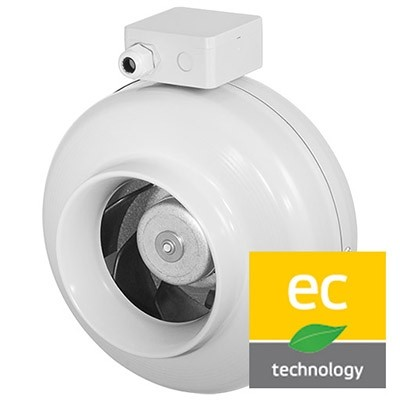 Potrubné ventilátory kruhové RS-EC (EC motor)