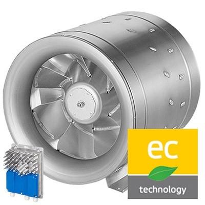 Potrubné ventilátory kruhové EL-EC (EC motor)